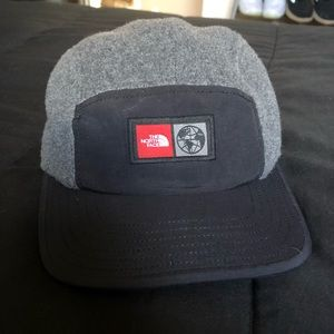 The North Face 5-panel wool ball cap!!